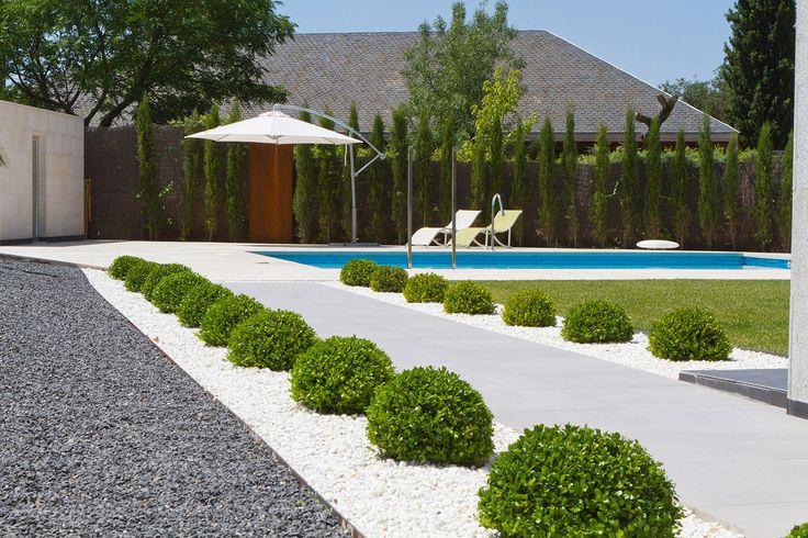 M s de 25 ideas incre bles sobre paisajismo moderno en - Paisajismo jardines pequenos ...