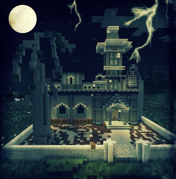 25 best ideas about minecraft creations on pinterest for Build a haunted house