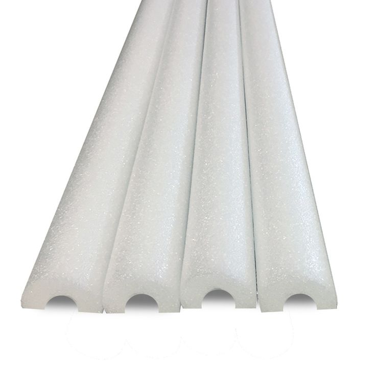 Half Foam Noodles For Padding or Bumpers -For Edges, Wall and Sealing Gaps Made in USA- 4 PACK