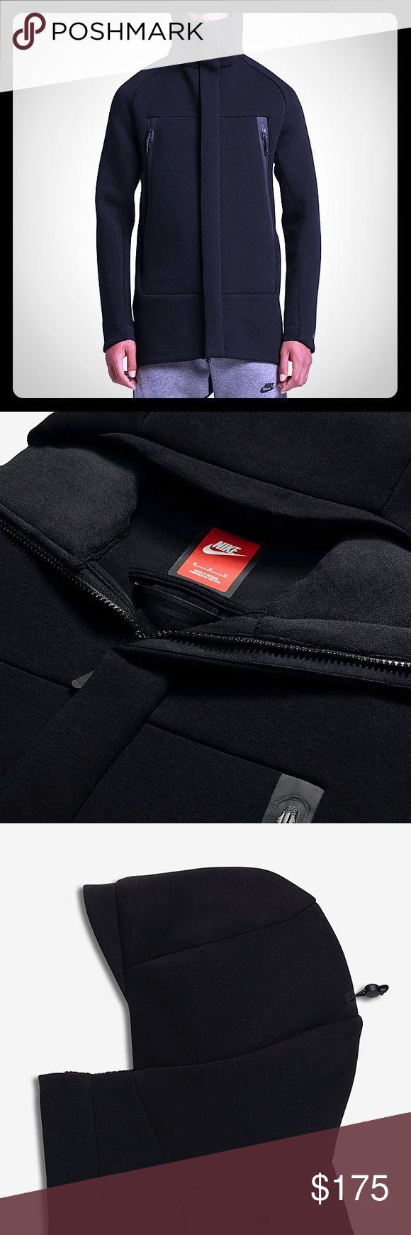 NEW Men's Nike Tech Fleece Parka sz L NWT $250 H Nike Jackets & Coats