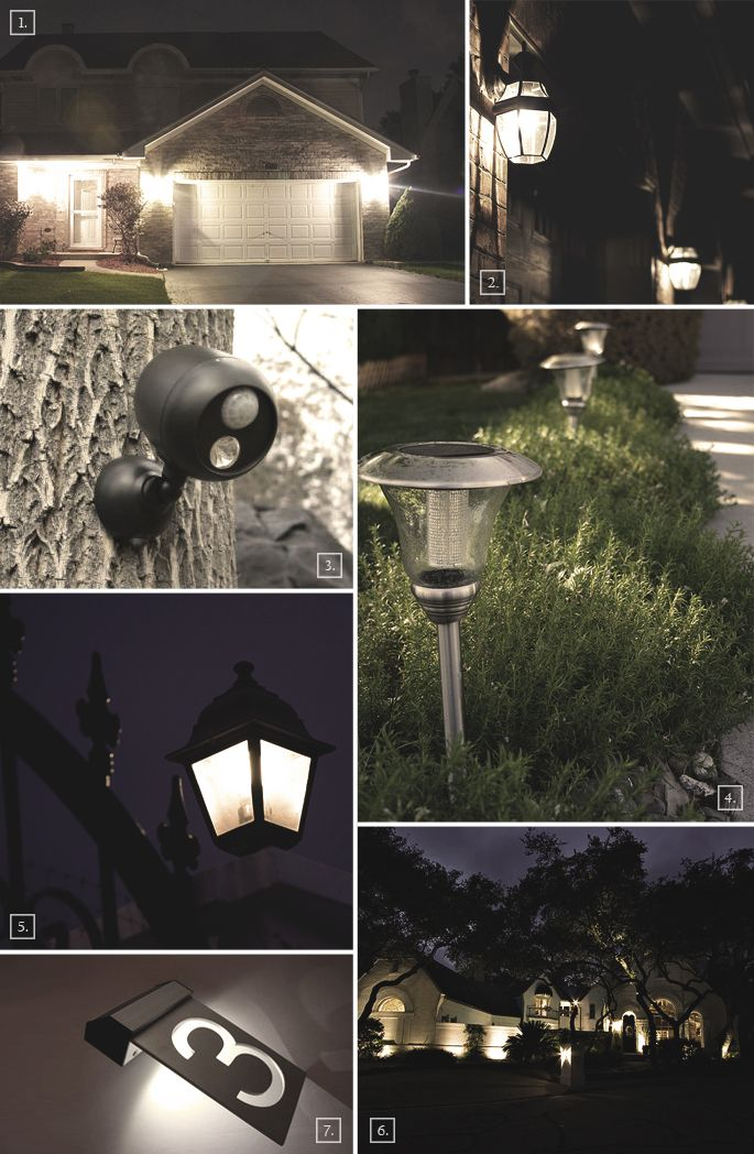 best 25 outdoor security lights ideas on pinterest. Black Bedroom Furniture Sets. Home Design Ideas