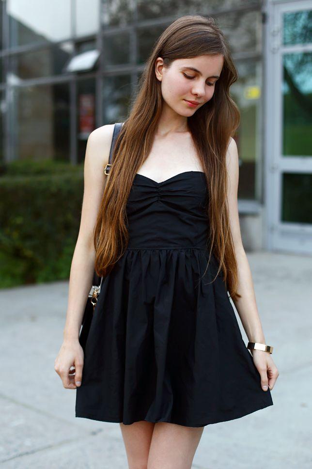 Czarna Sukienka Z Gorsetowym Tylem I Lakierowane Szpilki Ari Maj Personal Blog By Ariadna Majewska Beautiful Outfits Tween Fashion Gorgeous Women