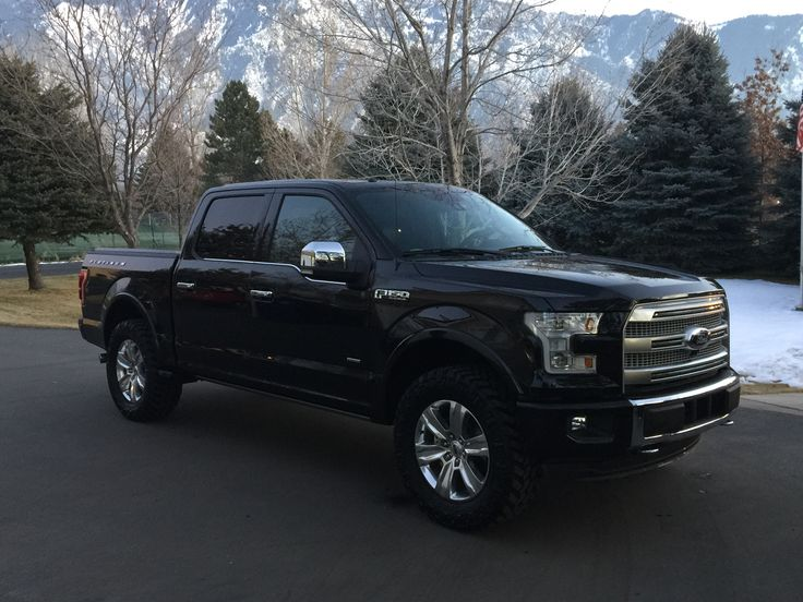 2015 F150 Platinum Leveling Kit 35 Quot Tires Cars