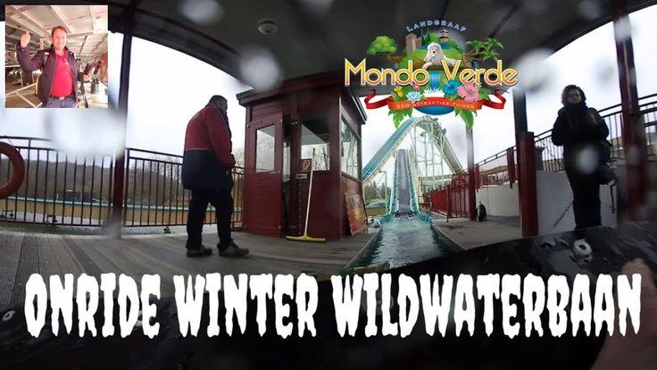 Onride Wildwaterbaan in de winter (360VR) Mondo Verde 2017