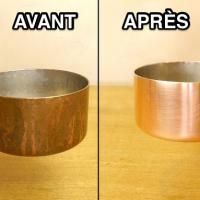 L'Astuce Magique Pour Que Vos Casseroles en Cuivre Retrouve Tout Leur Éclat.