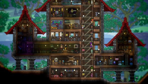 how to make a good house in terraria