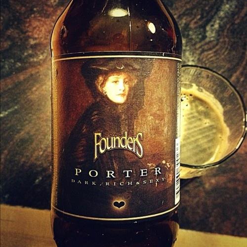 Founder's Porter. Fantastic #beer.