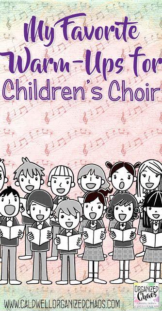 My Favorite Warm-ups for Children's Choir |