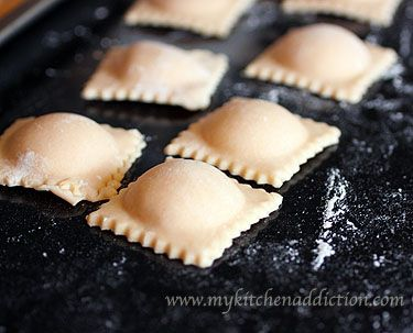this will be the recipe I will use :D    so excited.. pumpkin ravioli's    i'll use wonton wrappers though [easier haha]: Pumpkin Ravioli, Yummy Recipes, Pumpkin Ricotta, Ricotta Ravioli, Comforter Food, Food Photography, Wontons Wrappers, Seasons Recipes, Favorite Recipes