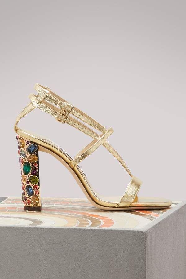 e3f4f61590bd Jimmy Choo Maeva 100 sandals
