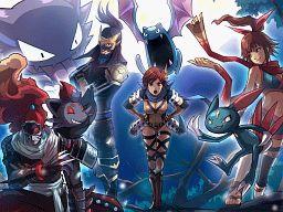 Ninjas, Pokemon Conquest.