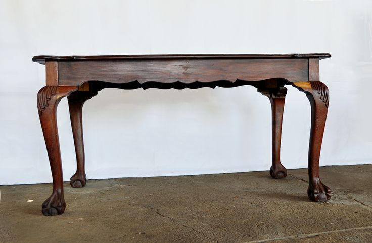 1960's South African Emboya Ball and Claw Table - 6 seater SAT#1 www.northcliffantiques.com