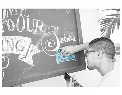 """Check out new work on my @Behance portfolio: """"CHALBOARD LETTERING TO A SPECIAL WEDDING"""" http://be.net/gallery/32580431/CHALBOARD-LETTERING-TO-A-SPECIAL-WEDDING"""