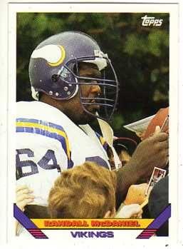 |   1993 Topps Football Card