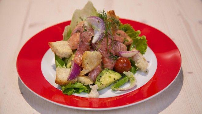 Zalmceviche met avocado-tomatensalade - De Makkelijke Maaltijd | 24Kitchen