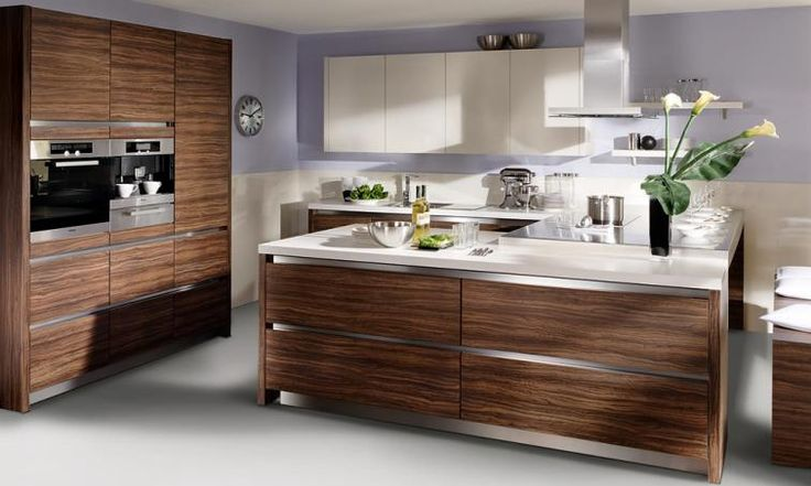 17 best images about contemporary kitchens on pinterest for High gloss black kitchen cabinets