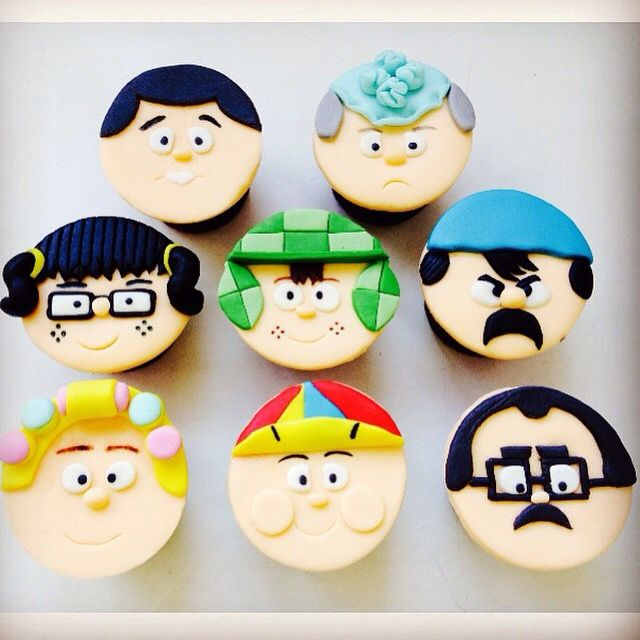 Cupcakes da Turma do Chaves