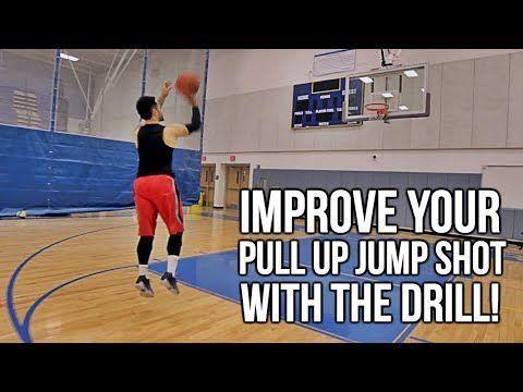 Youth Basketball Drill: How To: Shoot A Pull Up Jump Shot! Basketball Shoo... #basketballdrills #basketballtraining #basketballdrillsdribbling