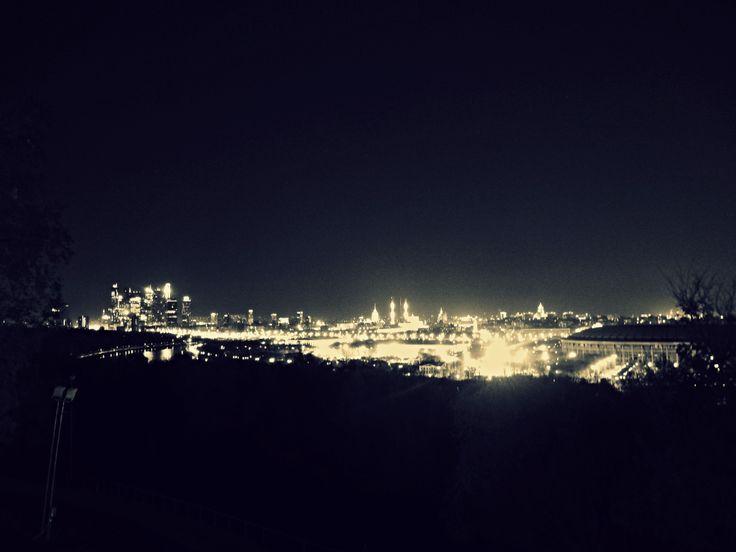 Ночная Москва / Panorama notturno di Mosca
