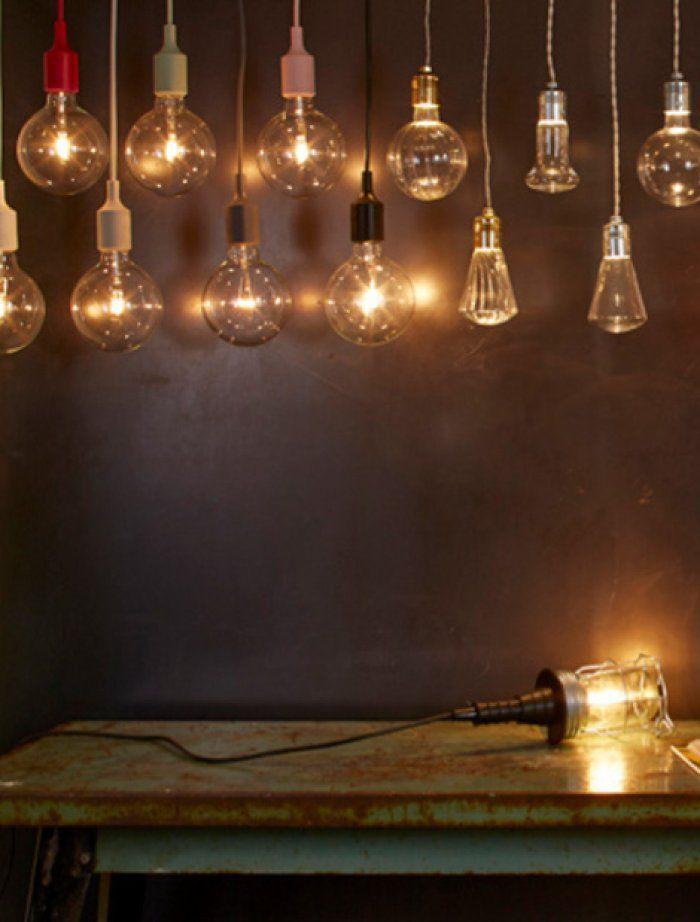 Les luminaires en forme d'ampoule, zoom sur la tendance
