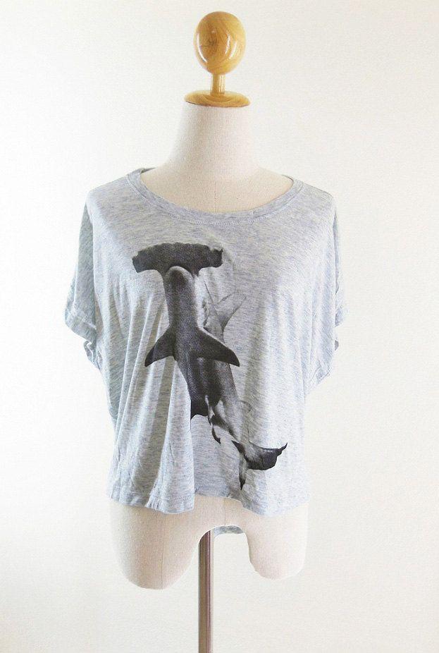 Hammerhead Shark shirt animal tshirt shark tshirt by loveTshirt, $15.99