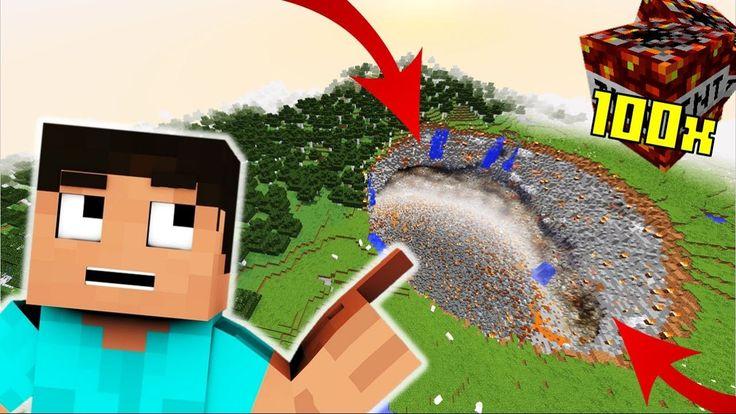 😱 A VILÁG LEGNAGYOBB MINECRAFT ROBBANTÁSA!! Minecraft Kísérletek #10 😱