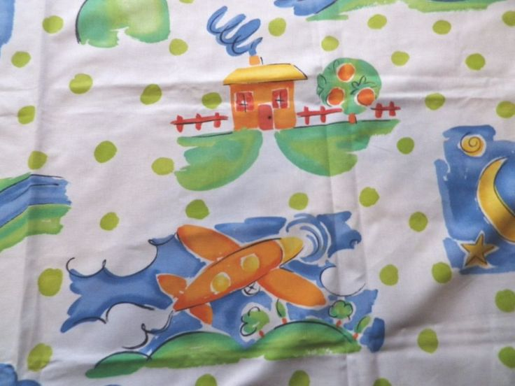 77 best children 39 s fabric images on pinterest aircraft for Childrens airplane fabric