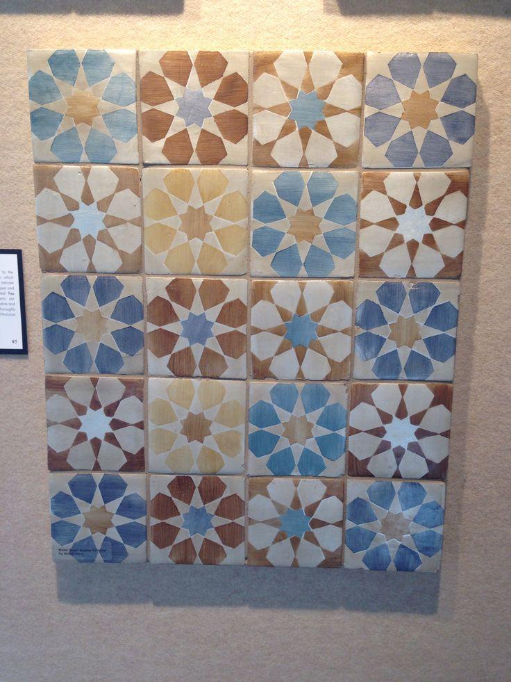 Walker Zanger Fez Pattern Vegasshowroom Tile Stone