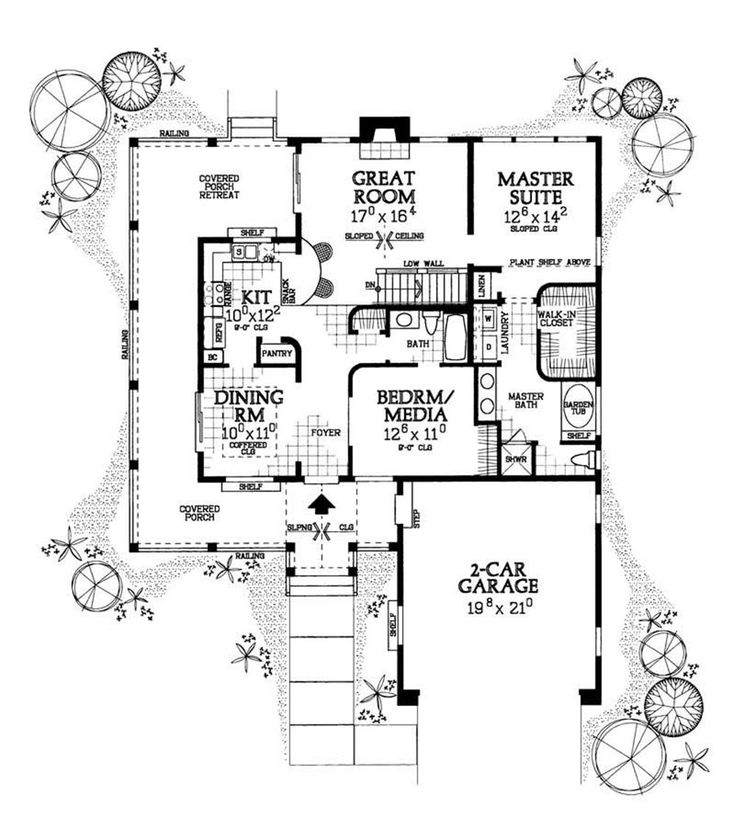 Best 25 large floor plans ideas on pinterest house for Lucky 4 ranch floor plan