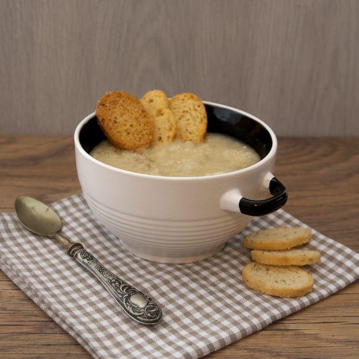 Zuppa di patate e ciplle