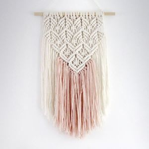 Lace Effect Macrame Wall Hanging - Whether you're buying for a friend, your partner, your mother or your daughter, it's important to get her a gift that she'll really treasure.