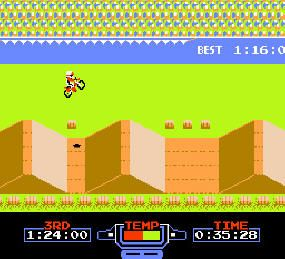 Excite Bike, not many sports oriented or racing games were this exciting. Many different and varied courses to play.
