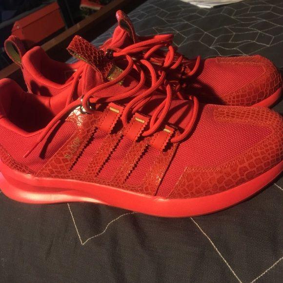 Red Adidas SL Loop