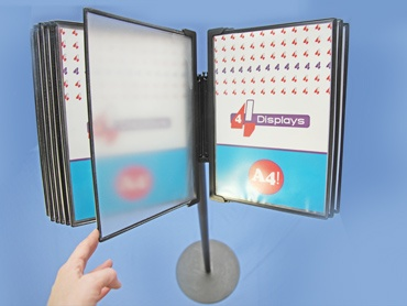 Free standing poster displays #NZ wide delivery
