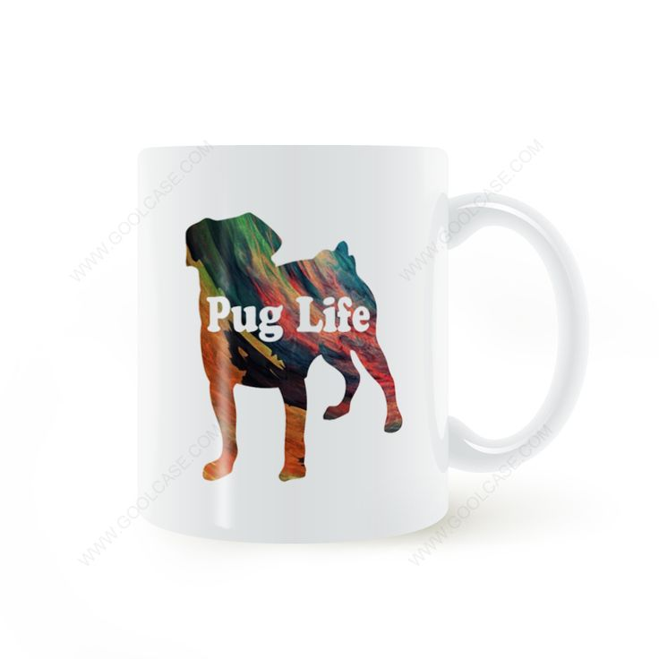 Find More Mugs Information about Pug Life Mug Coffee Milk Ceramic Cup Creative DIY Gifts Home Decor Mugs 11oz T542,High Quality film holder,China filme xxx Suppliers, Cheap film bumper from Double Seven Store on Aliexpress.com