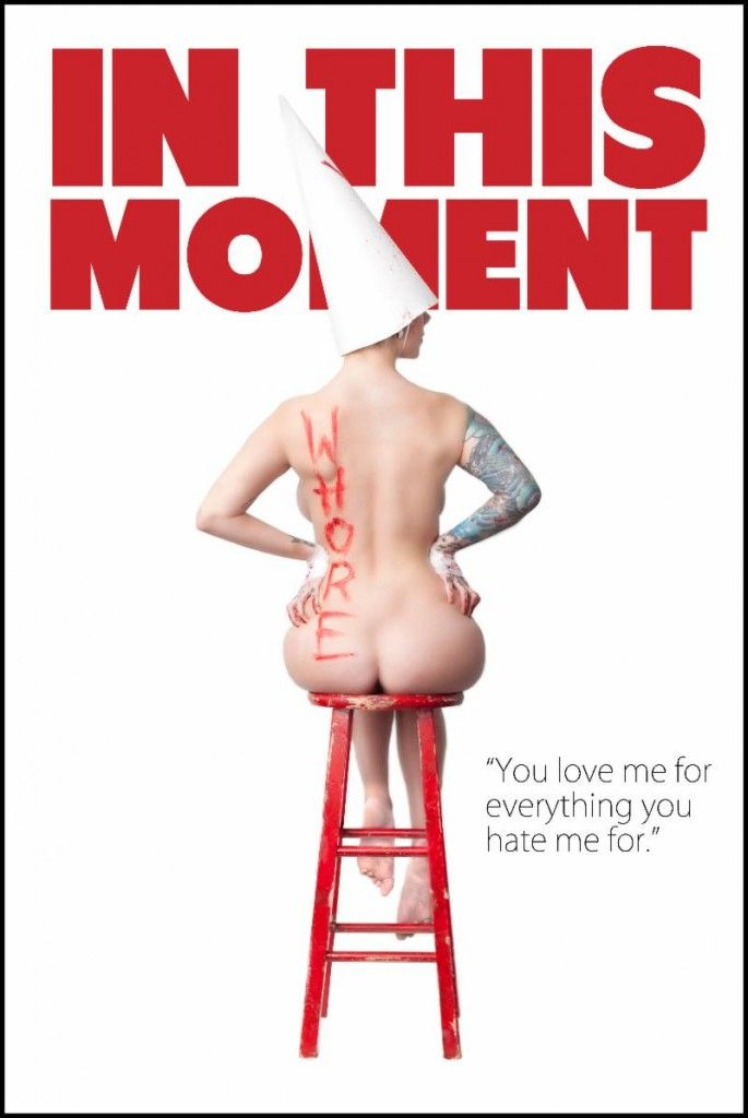 """IN THIS MOMENT premiere """"WHORE"""" music video http://buff.ly/1iEEpci"""