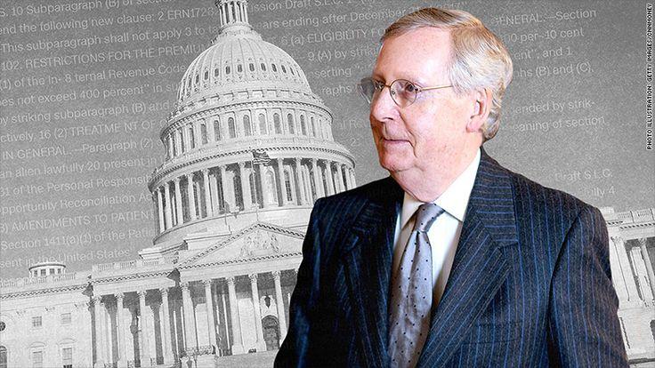22 million fewer Americans insured under Senate GOP bill (CNN|Money, 6.26.17)