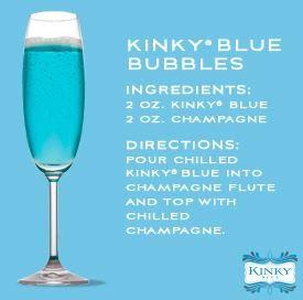 Kinky Blue Bubbles!