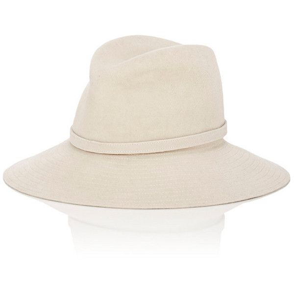 Lola Hats Women's Beanshooter Redux Fedora ($139) ❤ liked on Polyvore featuring accessories, hats, white, white hat, lola hats, brim fedora hat, white fedora and white fedora hat