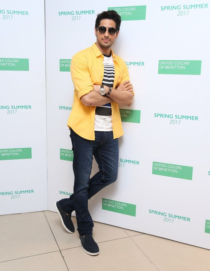 Sidharth Malhotra | Benetton India.