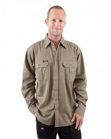 Original Cotton Drill LS Shirt from Bisley Workwear. Another cool product I photographed for WorkWearHub.com.au