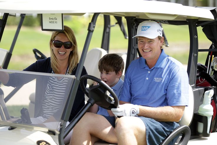 PGA golfer ernie Els is happily married to his lovely wife Liezl Els