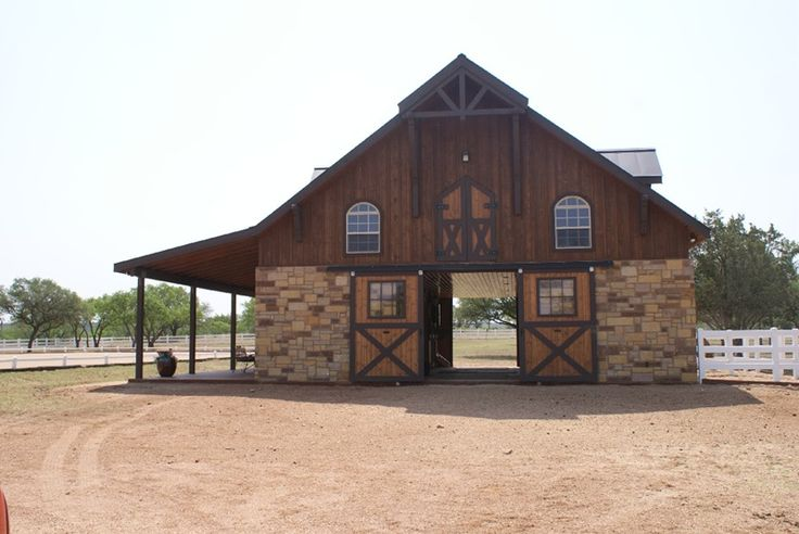 93 best images about horse barn exteriors on pinterest for Horse barn house combo plans