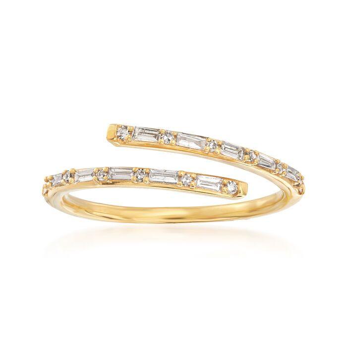 14K Gold Plus Design Cuff Round Diamond Ring  Cross Round Diamond Band  Unique Open Design Ring   White Gold  Rose Gold  Yellow Gold