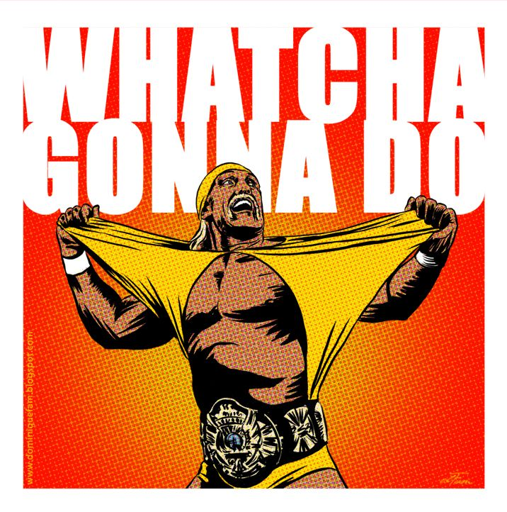 Hulk Hogan by dominiquefam