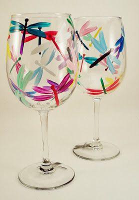 wowshareit.blogspot.com: DIY: 6 Τρόποι για να βάψεις μόνη σου γυαλί και πορσελάνη ΒΙΝΤΕΟ