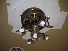 Painting a Ceiling Fan without taking it down...