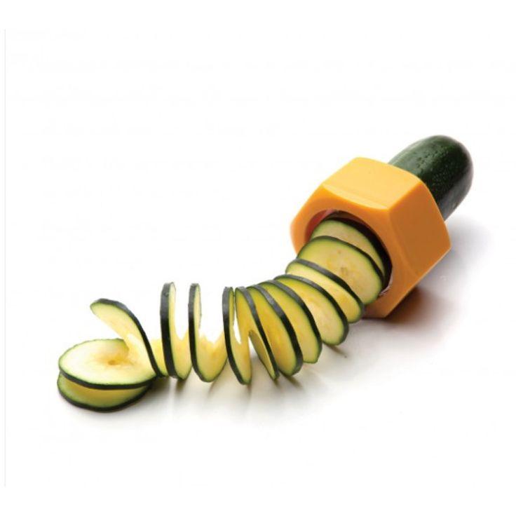 Exceptionnel Accessoires De Cuisine Design #14: Taille Légumes CUCUMBO Orange PA DESIGN - Achat / Vente Ustensile Cuisine  Découpe Spirale, Fraisedesbois