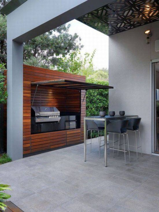 Instant outdoor kitchen
