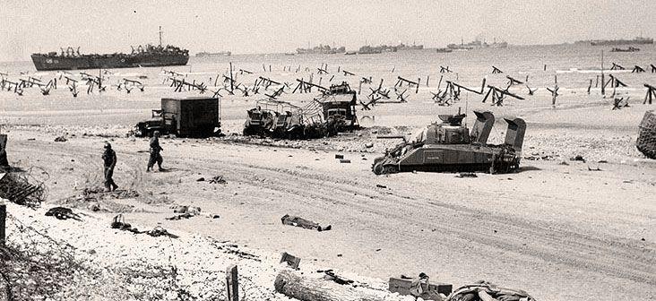 Opening Omaha Beach: Ensign Karnowski and NCDU-45   Seabee Online